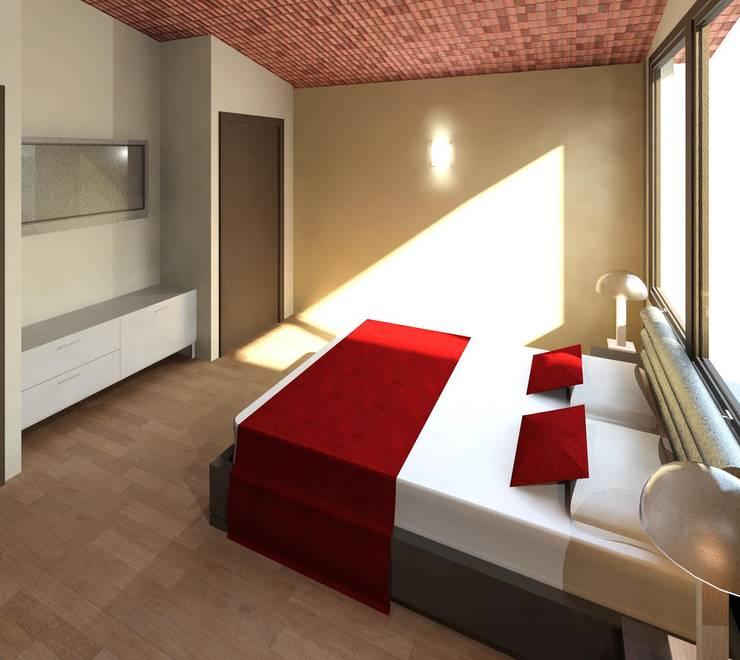 Dormitorio 02:  de estilo  por Diseño Store