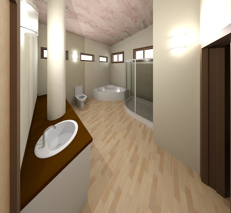 Bathroom by Diseño Store