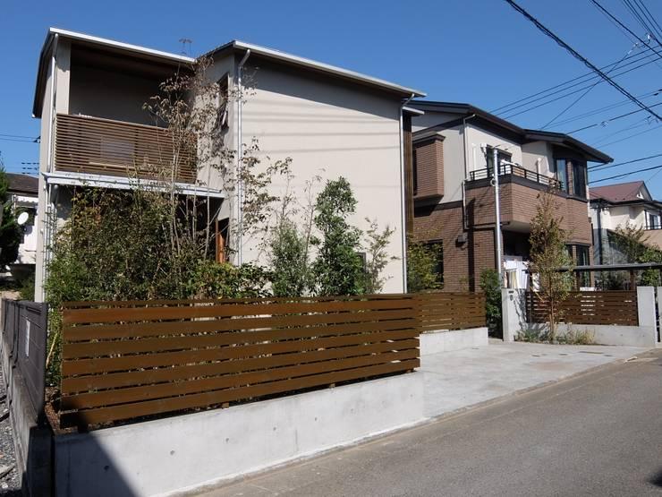 外観: 有限会社 アンドウ・アトリエが手掛けた家です。