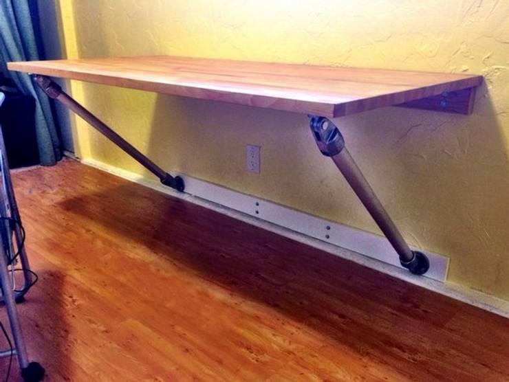 Zwevend Bureau Maken : Diy hoe kan je een zwevend bureau maken von simplified building