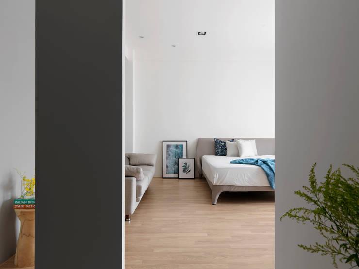 夏沐森山設計整合が手掛けた寝室