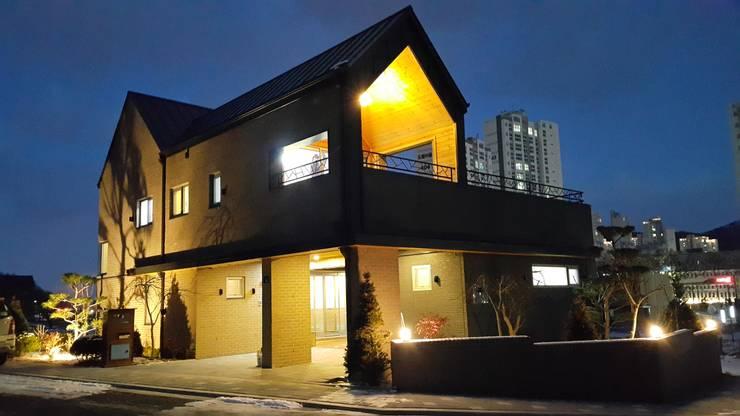 세종시 단독주택: 건축사사무소 사람인의  주택