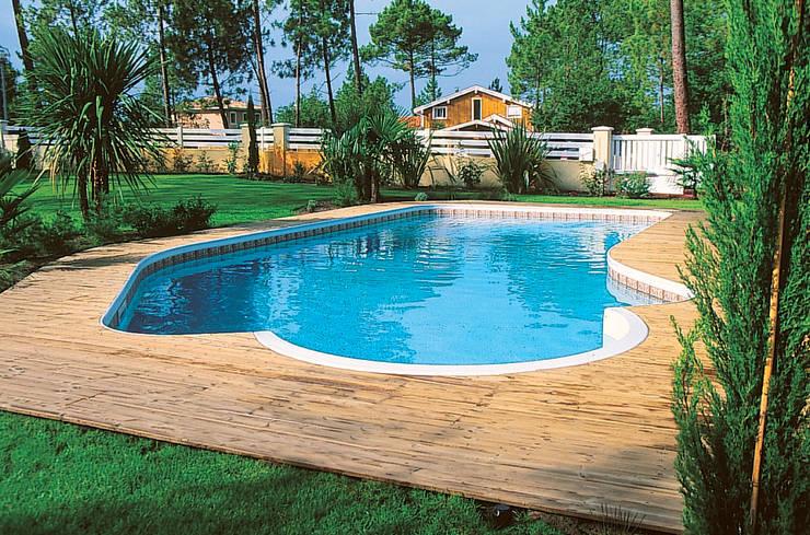 modern Pool by Soleo