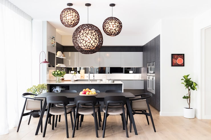 Dining room by Black and Milk | Interior Design | London