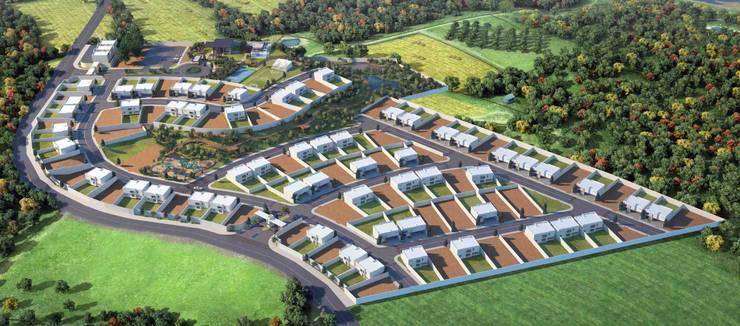 Master Plan: Casas de estilo  por Segovia ARQ