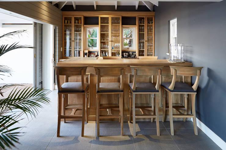 Wine cellar by JSD Interiors