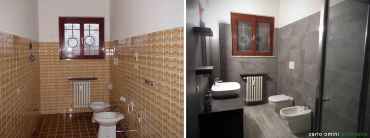 moderne Badkamer door CARLO OMINI ARCHITETTO