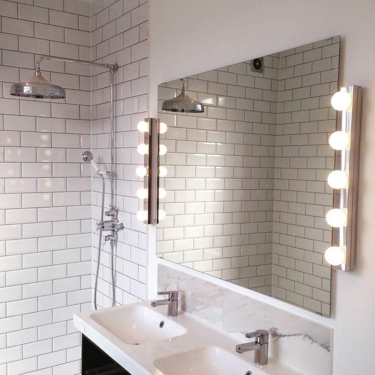 industrial Bathroom by My-Studio Ltd