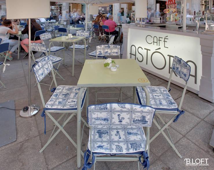 CAFÉ ASTÓRIA- Projecto de Decoração, Interior: Casa  por B.loft