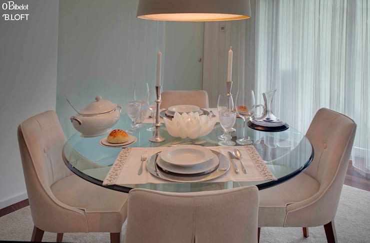 Comedores de estilo minimalista por B.loft