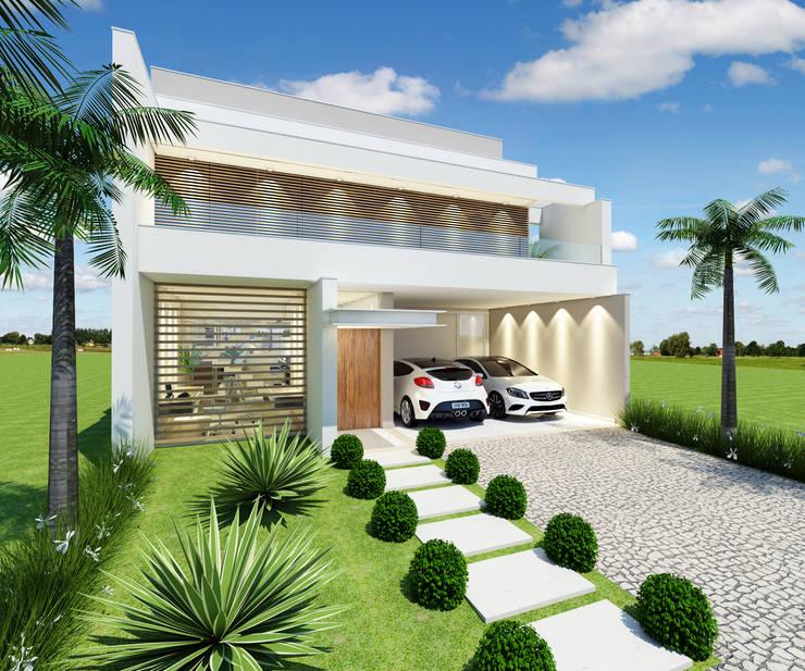 منازل تنفيذ Arquiteto Tales Miranda