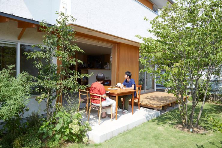 Jardines de estilo  de 一級建築士事務所co-designstudio