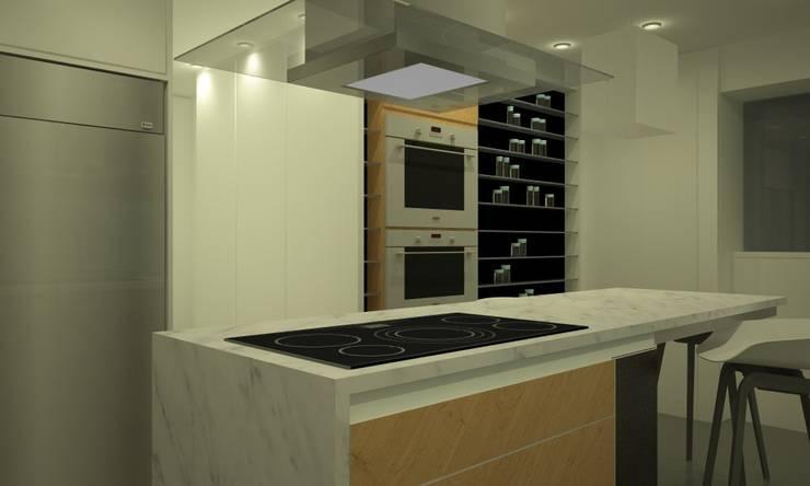 Cocina Mezquita: Cocinas de estilo  por Proyectos JARQ,