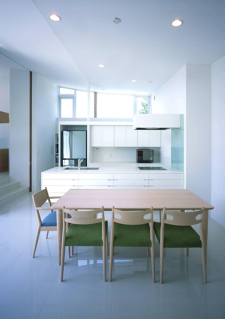 薩摩川内の住宅: アトリエ環 建築設計事務所が手掛けたキッチンです。