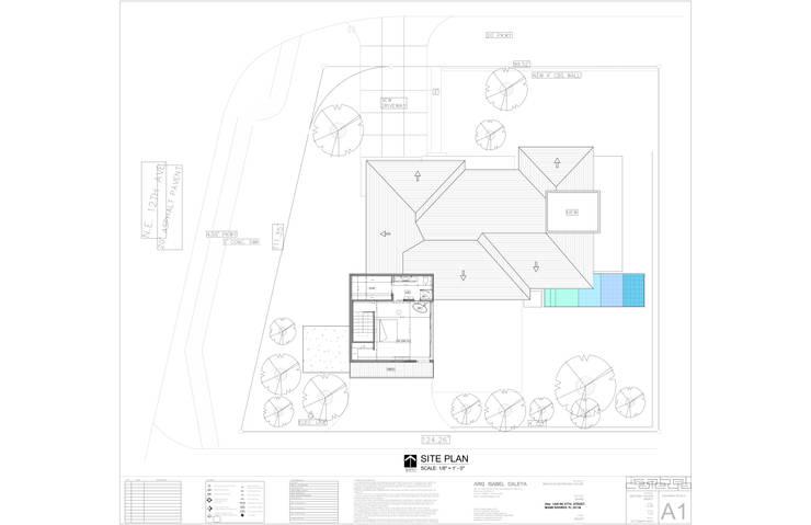 Casa MIAMI – HT: Paredes de estilo  por Proyectos JARQ