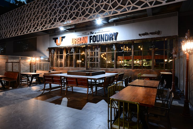 TUF—The Urban Foundry:  Bars & clubs by Studio K-7 Designs Pvt. Ltd