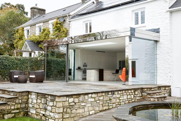 External photo: modern Kitchen by Trombe Ltd