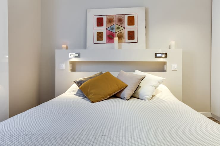 Projekty,  Sypialnia zaprojektowane przez deSYgn by JM2