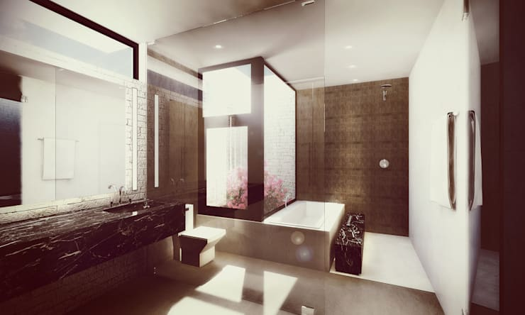 Bathroom by Estudio Volante