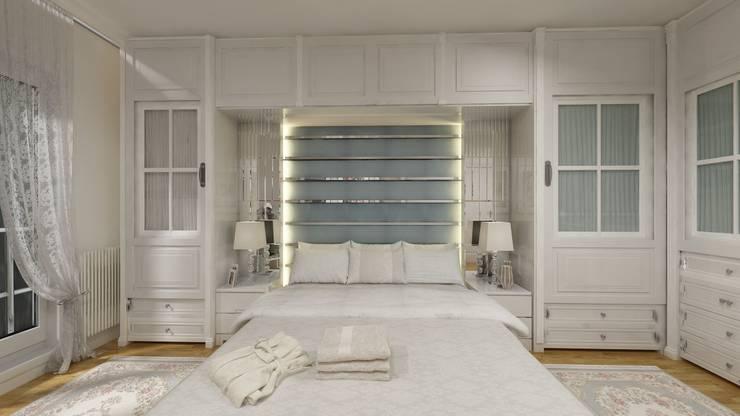 Altuncu İç Mimari Dekorasyon – İnnovia 2 yatak odası tasarımı:  tarz Yatak Odası