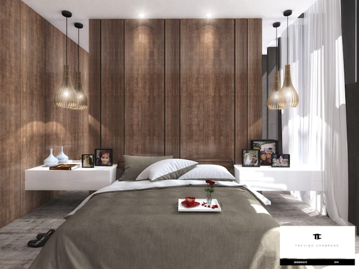 modern Bedroom by TREVINO.CHABRAND | Architectural Studio