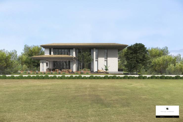 RESIDENCIA EO: Casas de estilo  por TREVINO.CHABRAND | Architectural Studio