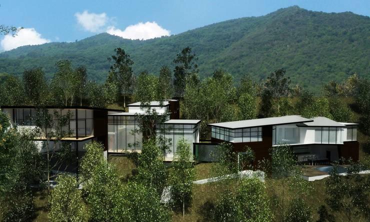 RESIDENCIA SELEKTO STUDIO Y HOME: Casas de estilo  por TREVINO.CHABRAND | Architectural Studio