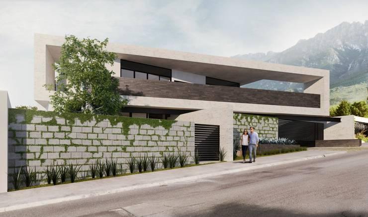 RESIDENCIA LA VENTANA: Casas de estilo  por TREVINO.CHABRAND | Architectural Studio