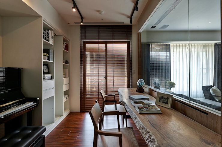 Study/office by DYD INTERIOR大漾帝國際室內裝修有限公司