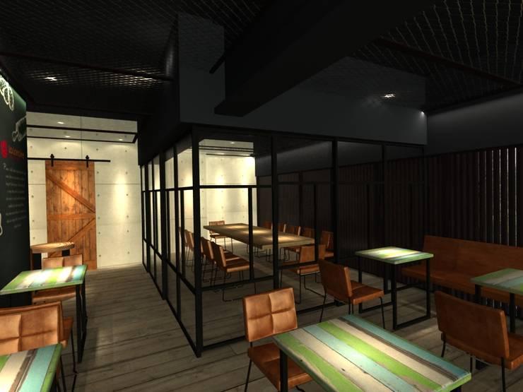 Bars & clubs by 東之光室內裝修設計有限公司,