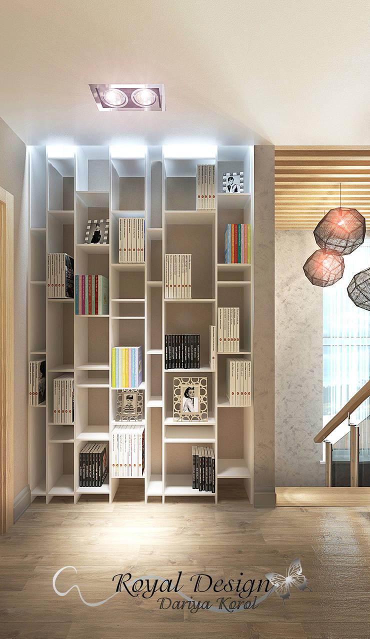 Холл 2й этаж таун хауса: Коридор и прихожая в . Автор – Your royal design,