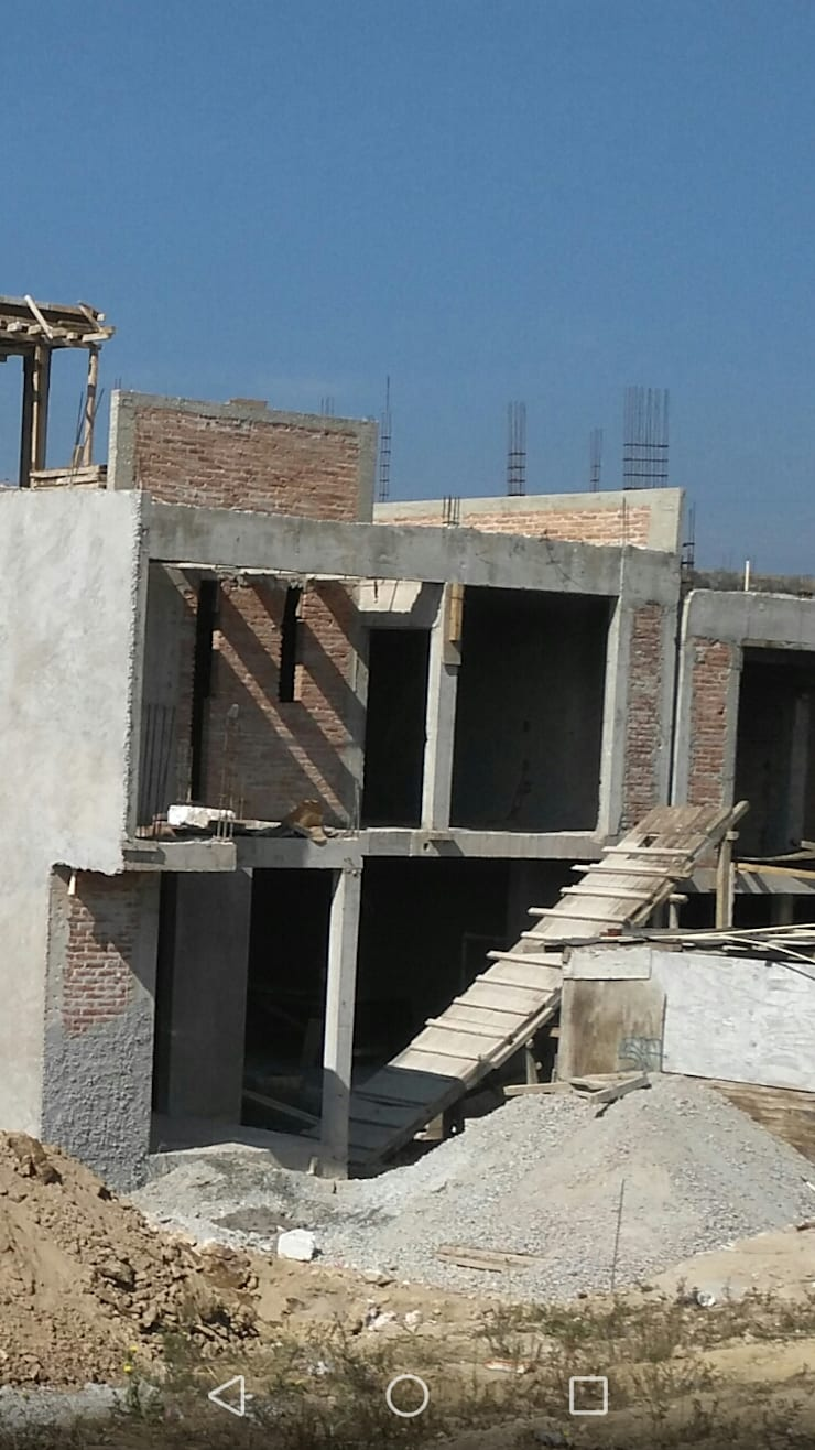 Casa Habitación:  de estilo  por casas eco constructora