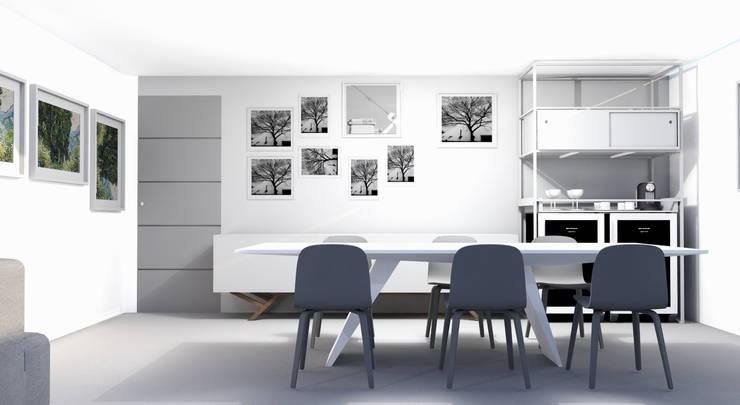 Comedores de estilo  por MEL design_, Ecléctico
