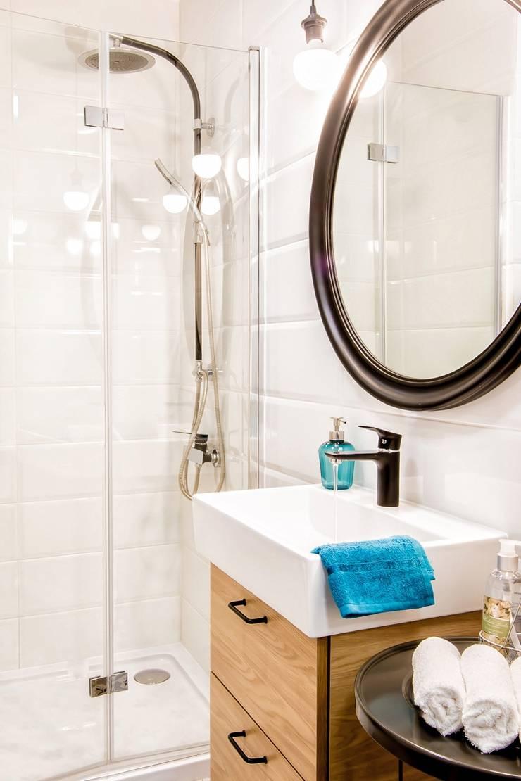 Bathroom by DreamHouse.info.pl, Scandinavian