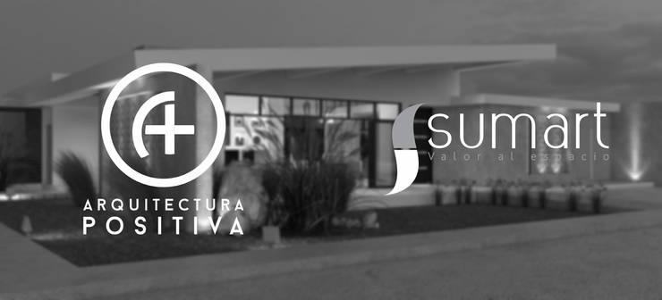 Vivienda Unifamiliar Sostenible : Casas de estilo ecléctico por Arquitectura Positiva