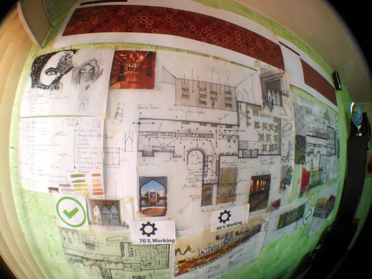 Remodelación de Restaurante Árabe Aceituna :  de estilo  por Arquitectura Positiva