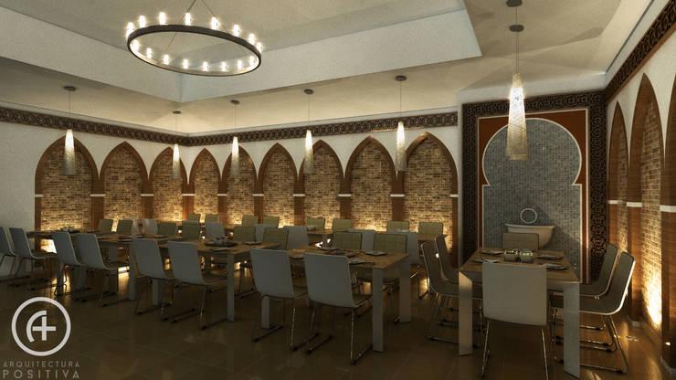 Salón Árabe : Paisajismo de interiores de estilo  por Arquitectura Positiva