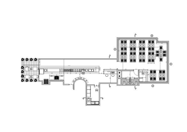 Planta General :  de estilo  por Arquitectura Positiva