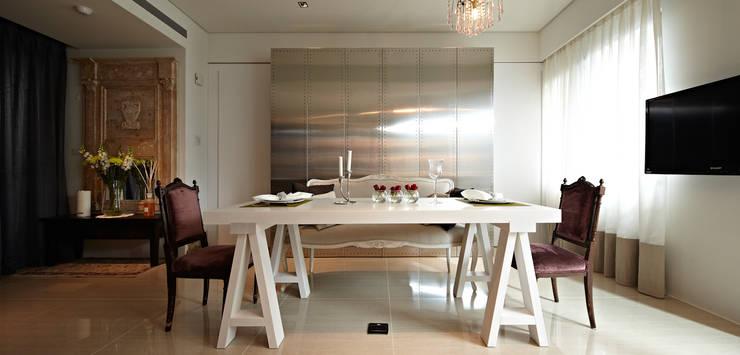 緞鋼:  餐廳 by 大晴設計有限公司