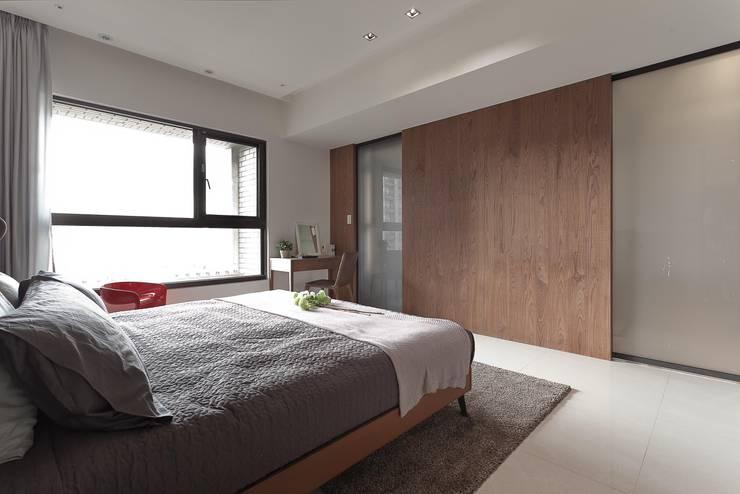غرفة نوم تنفيذ 大晴設計有限公司