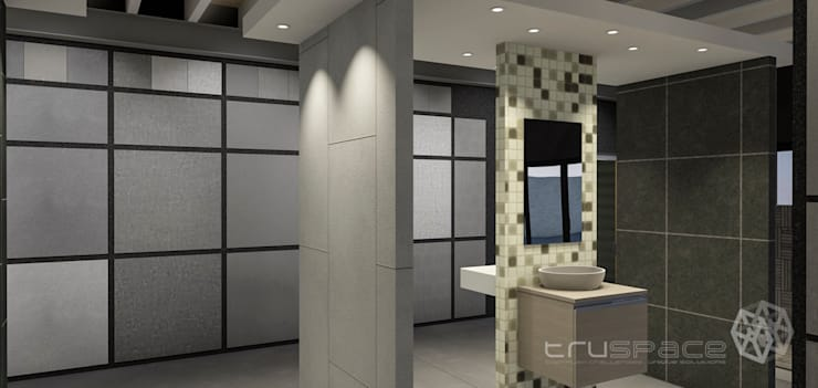 Allrounder Tiles: Additions:  Commercial Spaces by Truspace