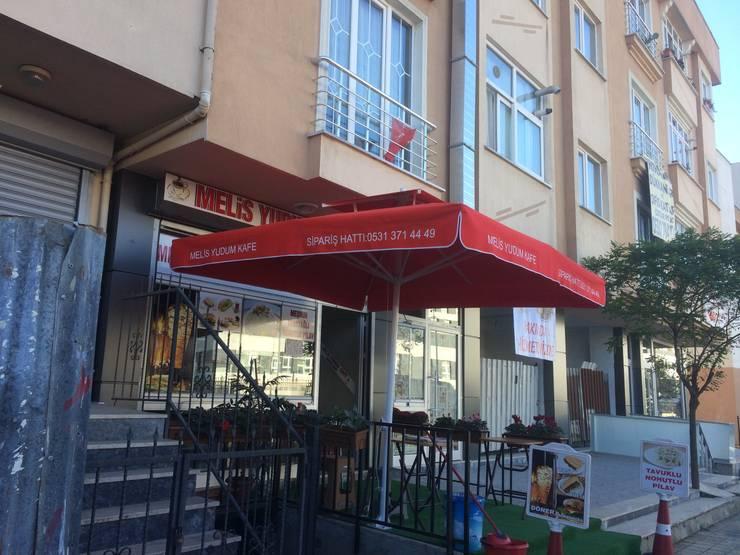 Akaydın şemsiye – 3 x 3 cafe önü şemsiye:  tarz Bahçe