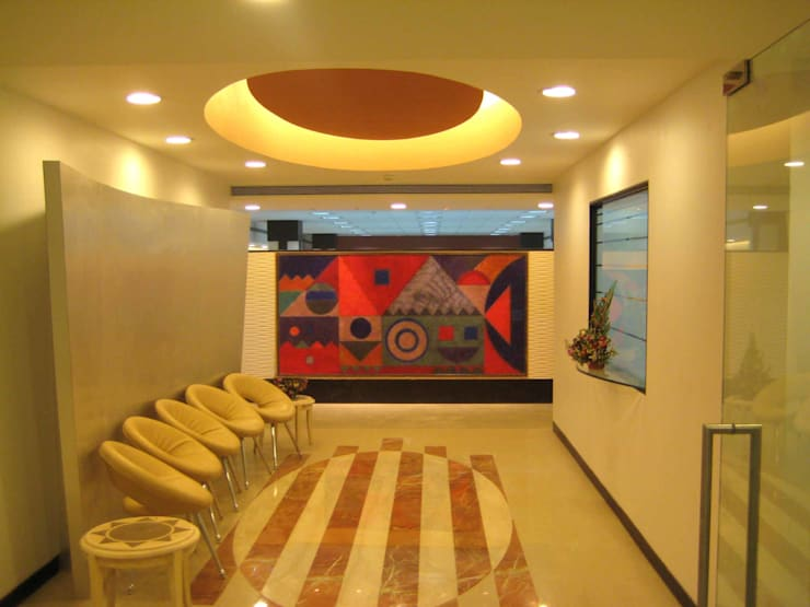 RBI OFFICE:  Offices & stores by Sudhir Diwan and Associate