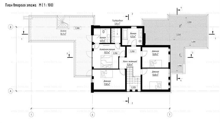 Марино хаус / Marino house:  в . Автор – BOOS architects
