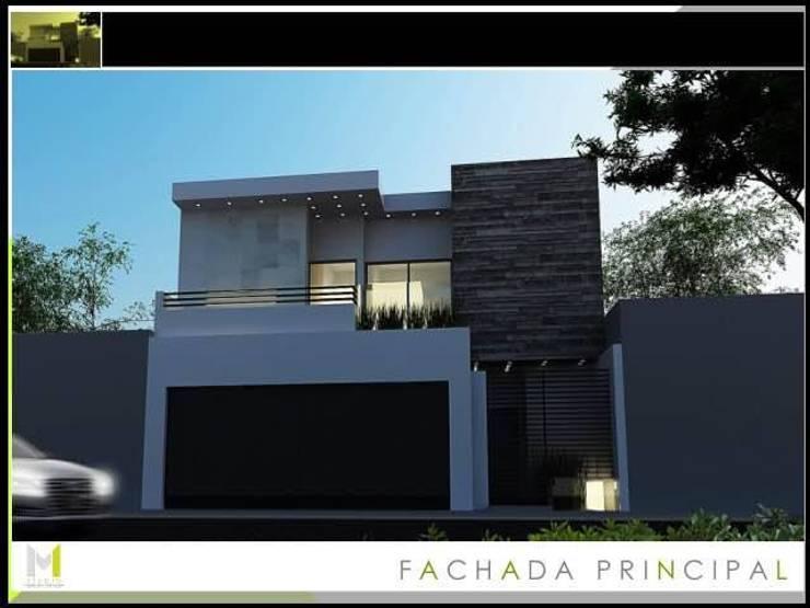 Proyecto ASE 5a: Casas de estilo  por Mstudio Arquitectura+Construccion