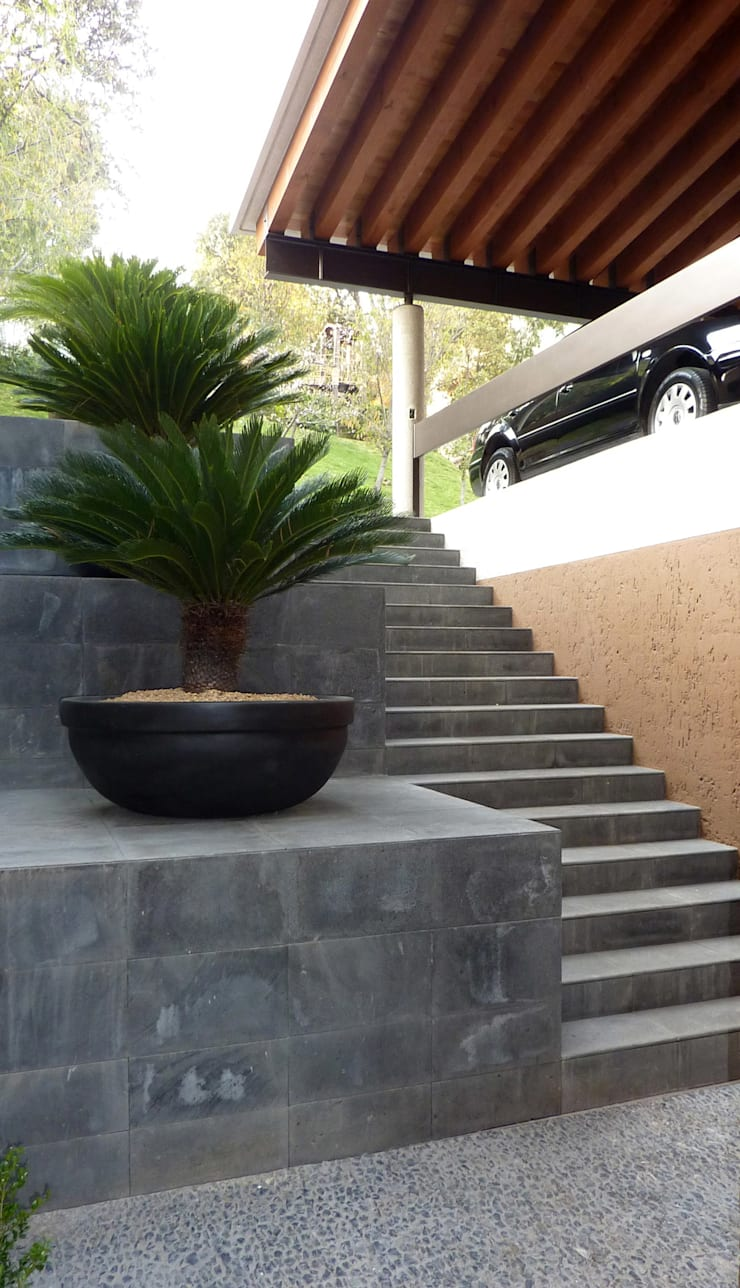 Casa Bosques: Casas de estilo  por Taller Plan A