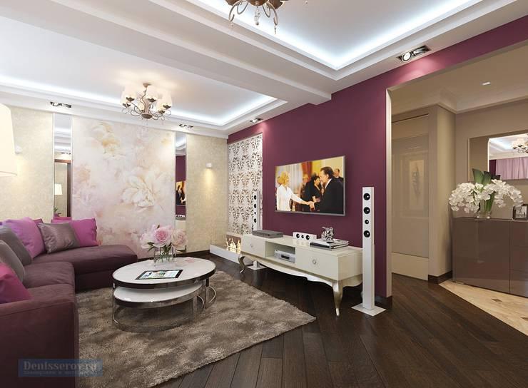 Living room by Студия интерьера Дениса Серова, Classic