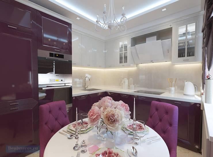 Kitchen by Студия интерьера Дениса Серова, Modern