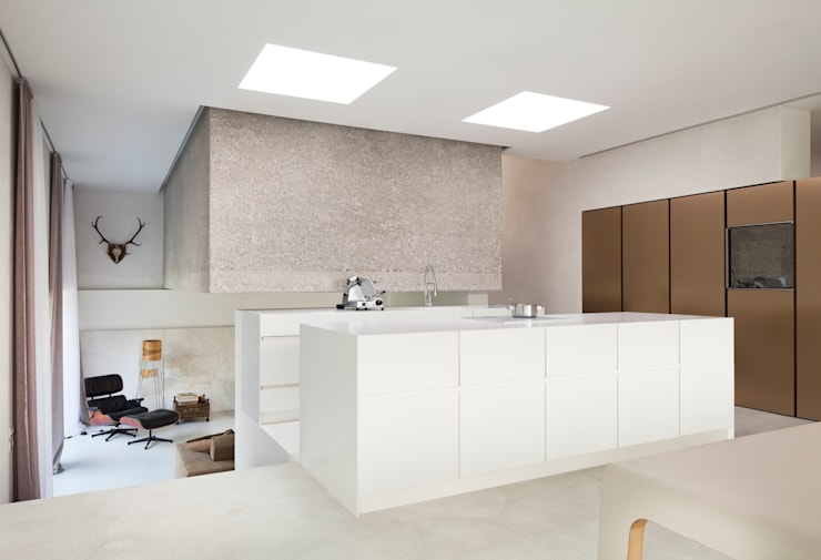 modern Kitchen by destilat Design Studio GmbH