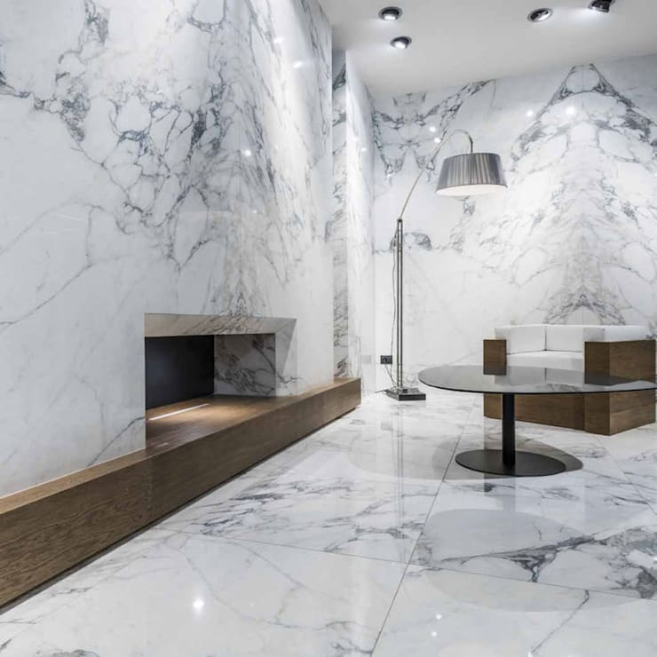 Paredes de estilo  por Tile Supply Solutions Ltd